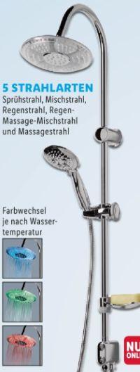 LED-Wellness-Duschsäule von Miomare