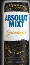 Mixt Guarana von Absolut