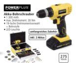 Akku-Bohrschrauber von Power Plus
