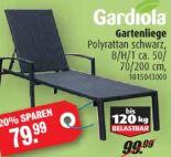 Gartenliege von Gardiola