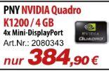 NVIDIA Quadro K1200 von PNY