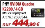 NVIDIA Quadro K2200 von PNY