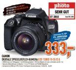 Digitale Spiegelreflex-Kamera EOS 1300D 18-55 IS II von Canon