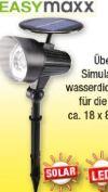 Solar-LED-Strahler von easy! MAXX