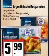 Rotgarnelen von Edeka
