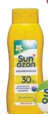 Sonnenmilch LSF 30 von Sunozon