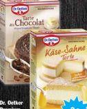 Kuchen-Backmischungen von Dr. Oetker