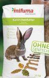 Kaninchenfutter Basis von Mifuma