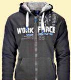 Herren-Sweat-Jacke von Terrax