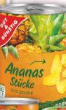 Ananas Stücke von Gut & Günstig