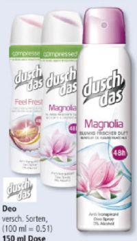 Deo-Spray von Duschdas