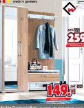 Garderoben-Paneel von Wittenbreder