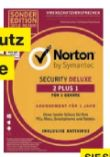 Sicherheitssoftware Internet Security Deluxe 2+1 von Norton