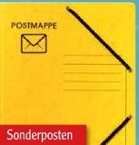 Postmappe von Falken