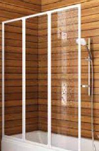 Badewannen-Faltwand BF3-400 von Aquaform