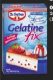Blatt Gelatine von Dr. Oetker
