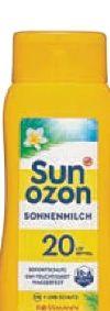 Sonnenmilch LSF 20 von Sunozon