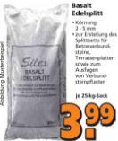 Basalt Edelsplitt von Silex