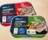 Sardinen-Filets von Edeka