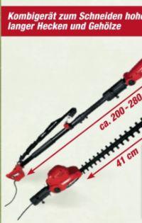 2 in 1 Hochentaster/Heckenschere EPS-HT 710 S von Matrix