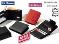 Leder-Geldbörse von Luigi Lamberto