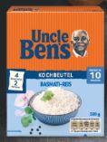 Reisspezialitäten von Uncle Ben's