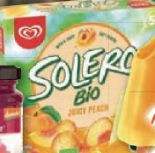 Solero Bio Juicy Peach von Langnese