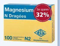 Magnesium Verla N Dragées von Verla-Pharm