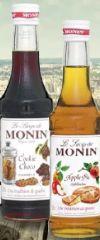 Sirup von Monin