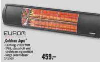 Terrassenstrahler Goldsun Aqua von Eurom