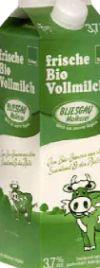 Frische Bio Vollmilch von Bliesgaumolkerei