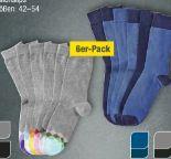 Damen-Herren-Socken