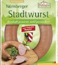 Nürnberger Stadtwurst von Ponnath