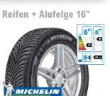 Alpin 5 Reifen + Alufelge von Michelin