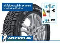 Alpin 6 Reifen + Alufelge von Michelin