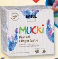 Mucki Funkel-Fingerfarbe von Kreul