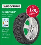 Reifen Komplettrad von Bridgestone