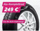 Alu-Komplettrad Reifen Dezent TE von Vredestein