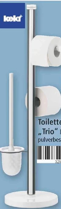 Toilettengarnitur Trio von Kela