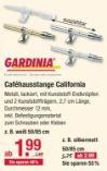 Caféhausstange California von Gardinia