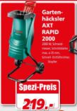 Gartenhäcksler AXT RAPID 2000 von Bosch