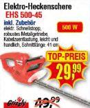 Elektro-Heckenschere EHS 500-45 von Grizzly