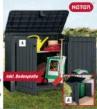 Garten-Mülltonnenbox