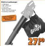 Elektro-Laubsauger von Grizzly