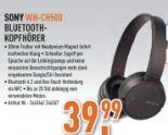 Kabelloser Bluetooth-Kopfhörer WH-CH500 von Sony