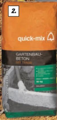 Gartenbau-Beton von Quick-Mix