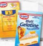 Blatt Gelatine weiß von Dr. Oetker