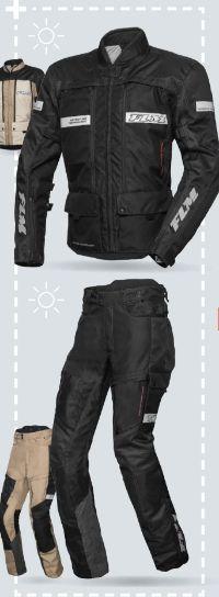 Reise Sommer-Textiljacke modular 1.0 von FLM