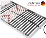 7-Zonen-Schichtholzrahmen Optima Extra Fix von Von Behren