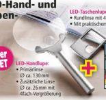 LED-Hand-Taschenlupen-Set 2er von Kraft Werkzeuge